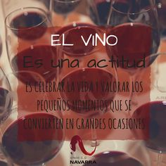 ¿Eres de los que tienen #vinoactitud? ¡Feliz #Winesday!.