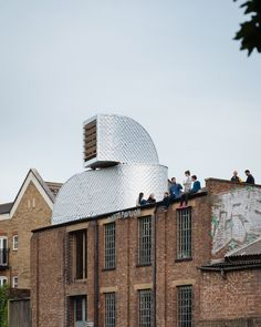 roof top pavilion, London | PUP Architects