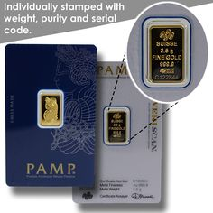 These Swiss-made bars are second to none when it comes to quality and security features. PAMP Suisse is known for their innovative security and design features. Fake Money Printable, Gold Bars For Sale, Gold Coin Price, Gold Bullion, Buy Weed Online, Silver Bars, Silver Coins, Precious Metals, Things To Come
