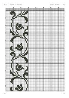 Cross Stitch Sampler Patterns, Cross Stitch Samplers, Cross Stitch Designs, Folk Embroidery, Embroidery Stitches, Embroidery Patterns, Knitting Charts, Knitting Patterns, Broderie Bargello