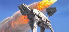 Las ilustraciones originales de Star Wars | Cultura Colectiva