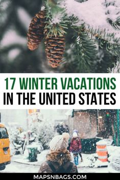 0202eb78d88 Check out the best winter vacation ideas in the United States! Great bucket  list ideas