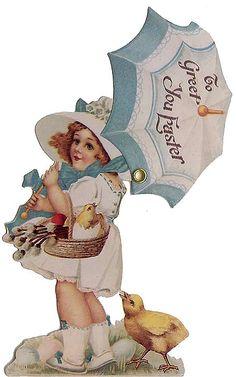 Mechanical Easter card