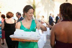 Boda Sister: Las bolsas de confeti personalizado