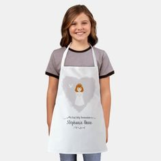 Communion Dove Redhead Girl Apron redhead wedding, redhead memes, redhead freckles #redheadwitch #redheadsrule #redheadsforlife, christmas decorations, thanksgiving games for family fun, diy christmas decorations