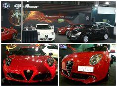 4C, MiTo and Giulietta initiated the visitors of Athens Auto Show ''Autokinisi Fisikon 2015'' in ''La Meccanica Delle Emozioni''!