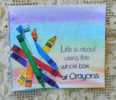 Pencil & More stamp by Two Paper Divas - IRIT SHALOM- Craft addict LTD