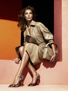 Salvatore Ferragamo spring/summer 2014 - Zien! Zomercampagnes 2014  #campaign #fashion #mode #model #photography #ELLE