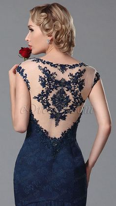 Gorgeous Embroidery Evening Gown Prom Dress