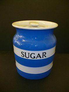 large sugar storage jar
