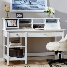 Three Posts Ackerson Open Storage Desk Set & Reviews | Wayfair