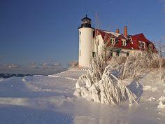 Pt. Betsie Lighthouse, Lake Michigan