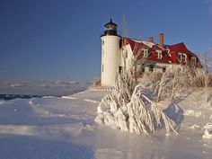 Pt. Betsie Lighthouse, Lake Michigan