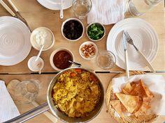 Kylling biryani — FAMILIEMAT Biryani, Garam Masala, Palak Paneer, Hummus, Squash, Curry, Ethnic Recipes, Food, Pumpkins