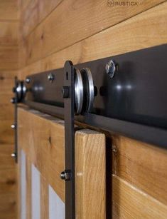 DIY barn door can be your best option when considering cheap materials for setting up a sliding barn door. DIY barn door requires a DIY barn door hardware and a Sliding Barn Door Track, Sliding Barn Door Hardware, Sliding Doors, Door Latches, Door Hinges, Door Brackets, Sliding Wall, The Doors, Wood Doors