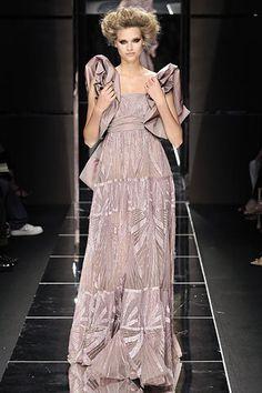 Elie Saab Fall 2008 Couture Fashion Show - Anna Chyzh
