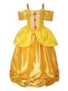 ReliBeauty Little Girls Princess Belle Costume Sleeveless Layered Dress up, Yellow, Princess Dress Up Clothes, Disney Princess Dress Up, Disney Princess Costumes, Little Girl Dress Up, Girls Dress Up, Dress Up Outfits, Dresses, Princess Belle Costume, Beauty And The Beast Costume