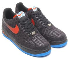 Nike Air Force 1 Low Houndstooth Print