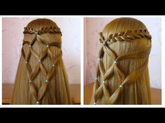 Coiffure for college faculty Tuto coiffure simple to do your self fast and straightforward YouTu College Hairstyles, Easy Hairstyles For School, Quick Hairstyles, Braided Hairstyles, Long Hair Ponytail, Medium Long Hair, Flower Girl Hairstyles, New Hair, Long Hair Styles