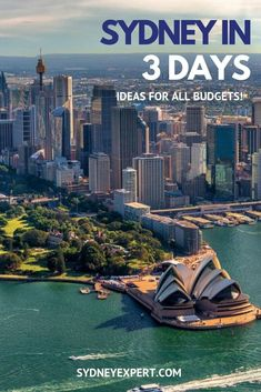 Can you see Sydney in 3 days?  You sure can!  There won't be much time for sleep if you try to do it all so we have try to highlight the best things to do no matter what your budget.  #Sydney #thingstodo #Australia