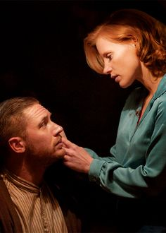 Jessica Chastain & Tom Hardy: New 'Lawless' Stills!: Photo Jessica Chastain and Tom Hardy show off their amazing chemistry in these recently released stills for their upcoming movie Lawless! Jessica Chastain, Lawless Movie, Lawless 2012, Tom Hardy Show, Tom Hardy Images, Tom Hardy Movies, Red Hair Inspiration, Tinker Tailor Soldier Spy, Actress Jessica