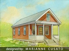 cottages are the perfect type of home for the beach but beachfront property can be - Katrina Cottage Plans