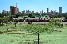 Uhuru Park, Nairobi - community action for sustainability - CASwiki Nairobi, Africa Travel, Kenya, Sustainability, New York Skyline, Tourism, Around The Worlds, Adventure, Landscape