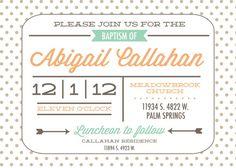 LDS Baptism Invitation Printable Mormon by PrintYourHeartOut