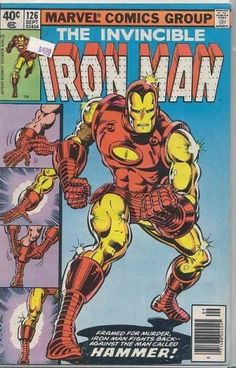Comic Rox - Iron Man #126. Justin Hammer in this issue and a slew of other villains!!!