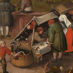 Pieter Balten(s)-Collected Works of Kees - All Rijksstudio's - Rijksstudio - Rijksmuseum Medieval Market, Medieval Life, Early Modern Period, Art Through The Ages, Dutch Golden Age, Renaissance Paintings, 14th Century, Antique Toys, Middle Ages
