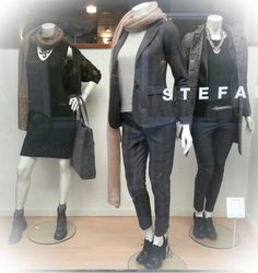 #stefanel #fall / #winter #newcollection #stefanelvigevano #look #abbigliamento #donna