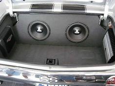 chevelle trunk custom car stereo install jl audio Custom Subwoofer Box, Subwoofer Box Design, Custom Car Audio, Custom Cars, Car Audio Installation, Chevy Chevelle Ss, Jl Audio, Custom Car Interior, Music Speakers