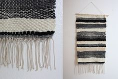 woven wall hanging: I REALLY want to try this. Seems easy enough and looks awesome!