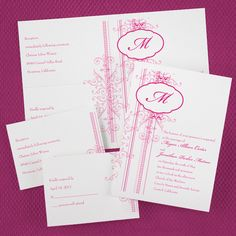 Affordable Style Wedding Invitations from My Sweet Wedding & Event Co. www.mysweetwedding.com