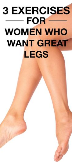 Here are a few leg workouts for women that are guaranteed to workout (pun intended).