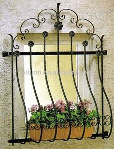Source decorative wrought iron windows grill design on m.alibaba.com