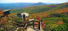 Blue Ridge Parkway: Best 15 Stops Photo Tour - Rough Ridge - (Milepost 302.8) It's a short hike to this boardwalk with spectacular views along a ridge with sweeping mountain views, overlooking Linn Cove Viaduct and Grandfather Mountain.