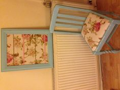 shabby chic chair & jewellery holder