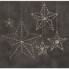 Starry Light 5-Point Star ($69) ❤ liked on Polyvore featuring home, outdoors, outdoor lighting, outdoor yard lights, outside light, soft white light and outdoor light