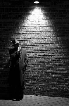 Just I have found some position and lighting of film-noir style......     Film Noir