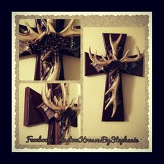 Antler Cross
