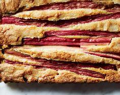 Rhubarb Cake, An Easy Easter Dessert - Bon Appétit   Bon Appetit