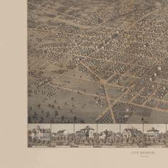 Millenium Project Map Ann Arbor, Vintage World Maps, Projects, Log Projects, Blue Prints