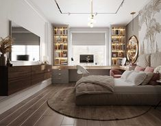 Guest Bedrooms, Girls Bedroom, Interior Architecture, Interior Design, Kids Bedroom Designs, Couch, Furniture, Ideas, Home Decor