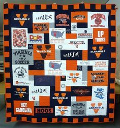 tshirt quilt idea | T-shirt Quilts | Pinterest | Shirt quilts, Tee ... : t shirt quilt kit - Adamdwight.com