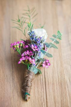 Our Intimate Elopement in Boyds, Maryland - Venue: Pleasant Springs Farm, Bethany Grace Photography. DIY Boho Wildflower Floral Bouquet and Boutonniere. Small Rustic Garden Wedding Ceremony with Immediate Family. Eucalyptus, Baby's Breath, Lavender, Spray Roses, Stock. Wood and Lace. True love!