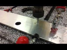 Stäubli robot (STAUBLI) for aluminum material milling (programmed by SprutCAM Robot)