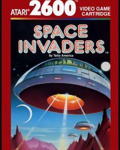 Buy Space Invaders Atari at Vintage Video Games Vintage Video Games, Classic Video Games, Retro Video Games, Vintage Games, Retro Games, Atari Video Games, Video Games List, Video Game Art, Games Box