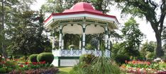 Halifax Tourist and Visitor Tips, Halifax Public Gardens, Nova Scotia Travel, Gazebo, Outdoor Structures, Tips, Deck Gazebo, Cabana, Arbors, Counseling