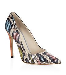 View the Anne Snakeskin Pumps